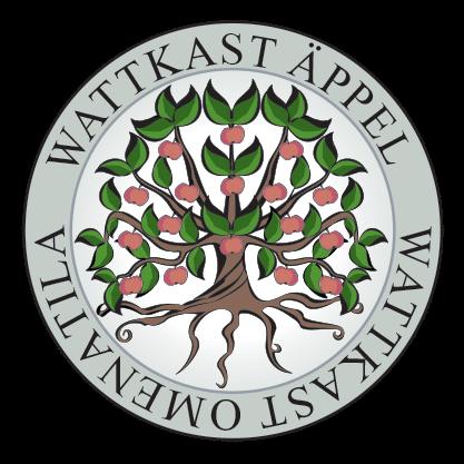 Wattkast Äppel transparent logo